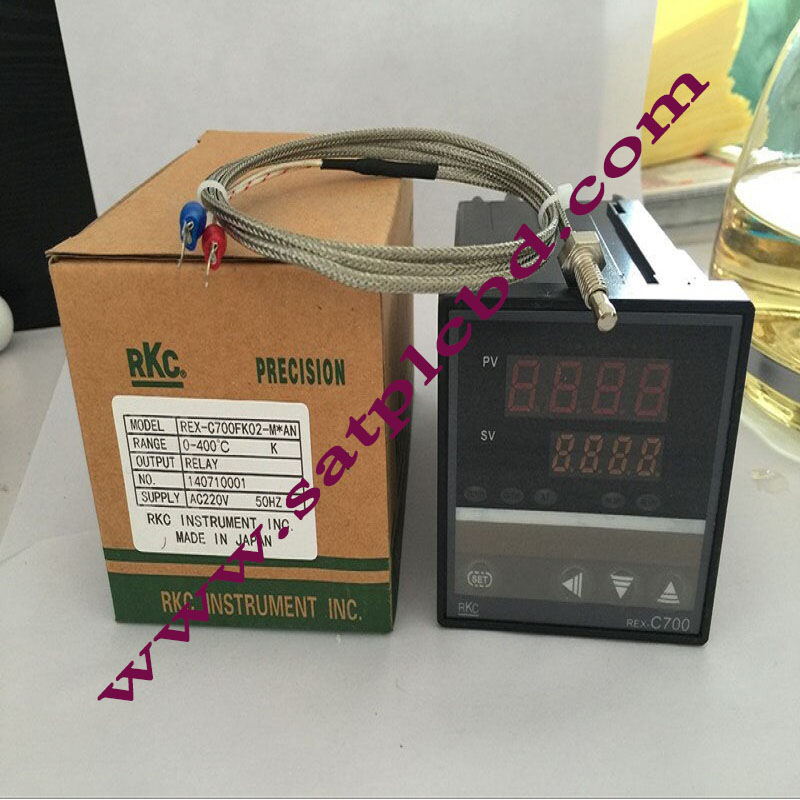 Temperature Controller(AC100-240V) RKC REX-C700 Thermocouple/PT100 Input SSR Output 72*72mm