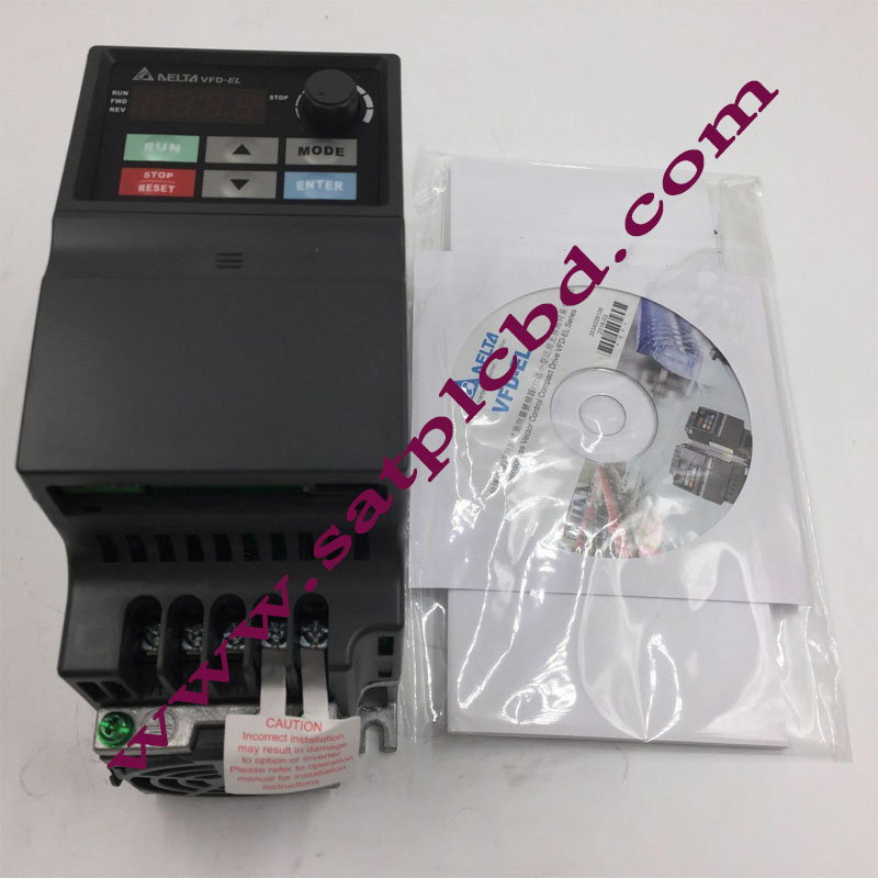 750W Delta Single Phase VFD Inverter Variable Frequency Drive 220V VFD007EL21A