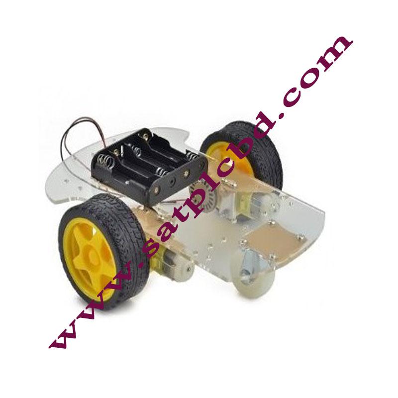 2 WHEEL DRIVE MOBILE ROBOT PLATFORM CHASSIS