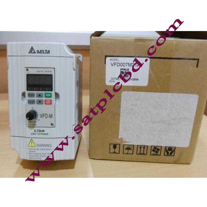 Delta Inverter, 0.75kw, 203V,1-Phase [VFD007M21A]